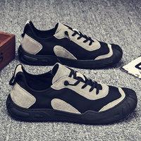 查看男鞋新款工地鞋子男士皮鞋劳保潮鞋工作秋季薄款运动透气休闲夏季价格