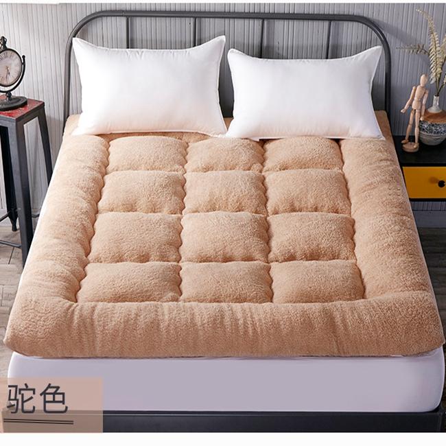 羽绒棉床垫榻榻米加厚10cm五星级酒店软床褥可折叠1.5m1.8米垫被,可领取3元天猫优惠券