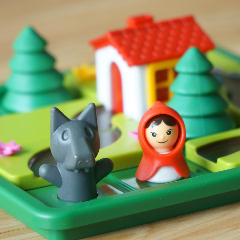 小红帽与大灰狼儿童闯关智力益智游戏
