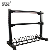 Three-layer multifunctional storage rack drug ball frame dumbbell rack kettle bell rack Bell rack otis Wall Ball frame