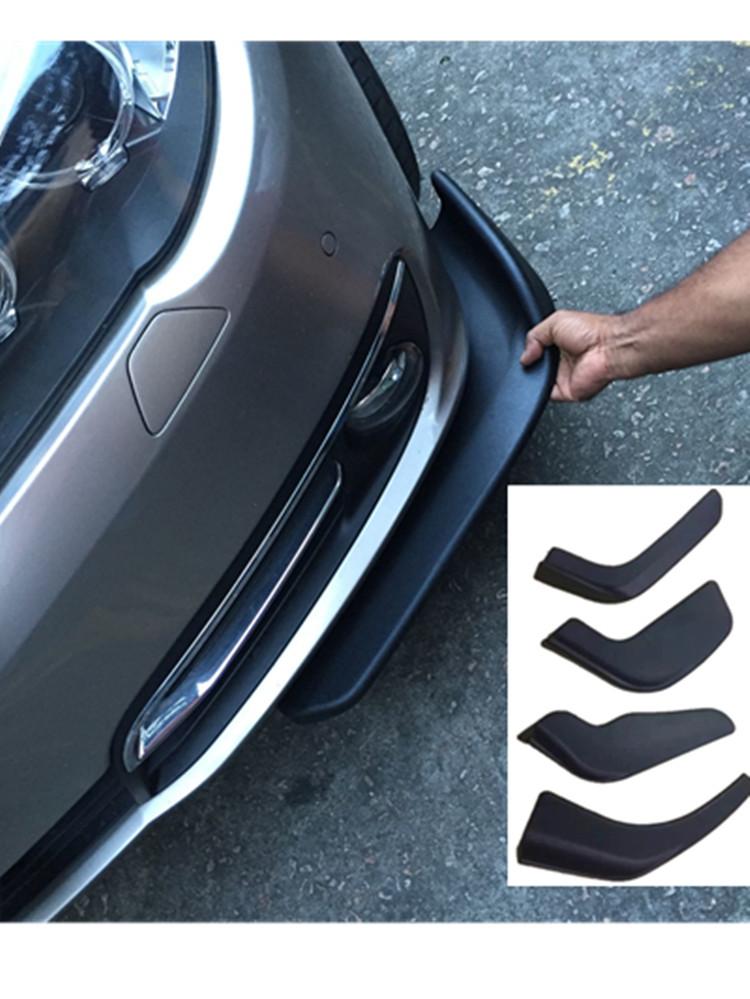 通用碳纤小包围大风刀前铲汽车改装保险杠大包围护角头铲包角顶吧