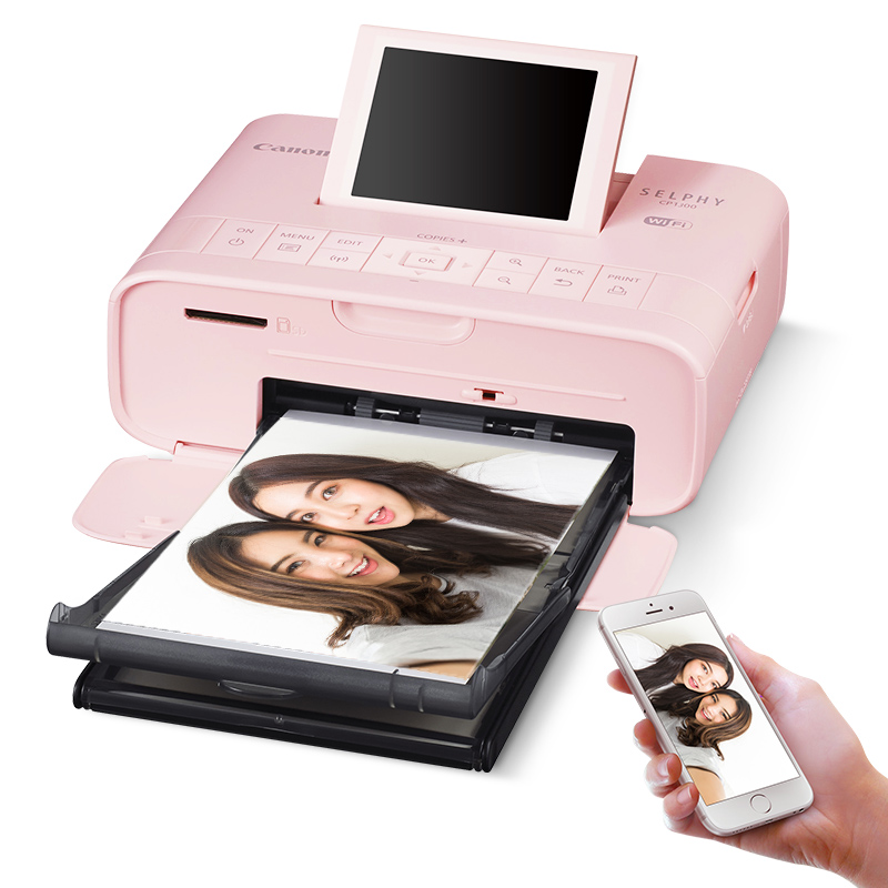 Canon CP1300 Small Mobile Phone Photo Printer Portable Thermal Sublimation Mini Household Wireless Color Photo Printing and Photo Printer of 1200 Handbook Photo Washing Machine Artifact Camera