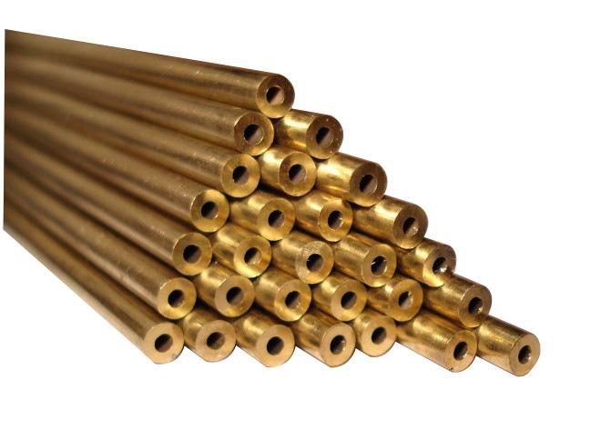 Наружный диаметр 10mm внутренний диаметр 4mm толщина стенки 3mm латунь трубка / латунь волосы хорошо трубка / гигабайт латунь / латунь палка