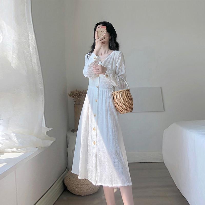 券后78.00元2019秋季新款气质显瘦法式连衣裙