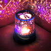 Free shipping Star Projector Lamp creative rotation meter machine custom marine child star night light romantic birthday gift