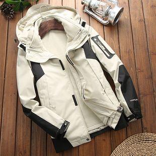滑雪服男单板推荐抖音二合一装备套装全套羽绒防寒潮旅游30内胆裤