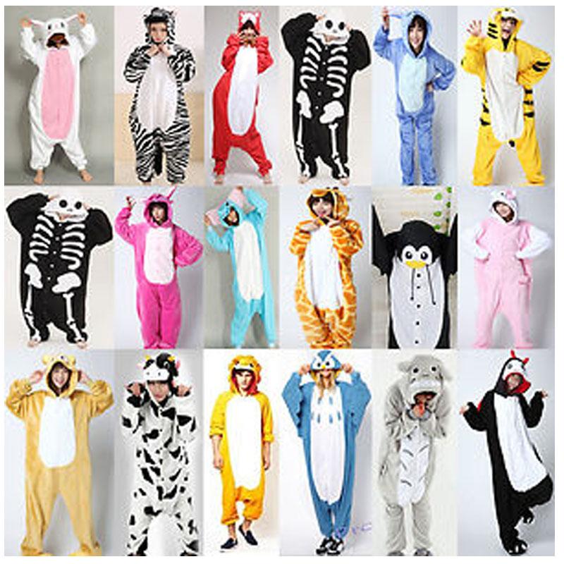 Cartoon animal mens and womens one-piece pajamas Onesie performance Costume