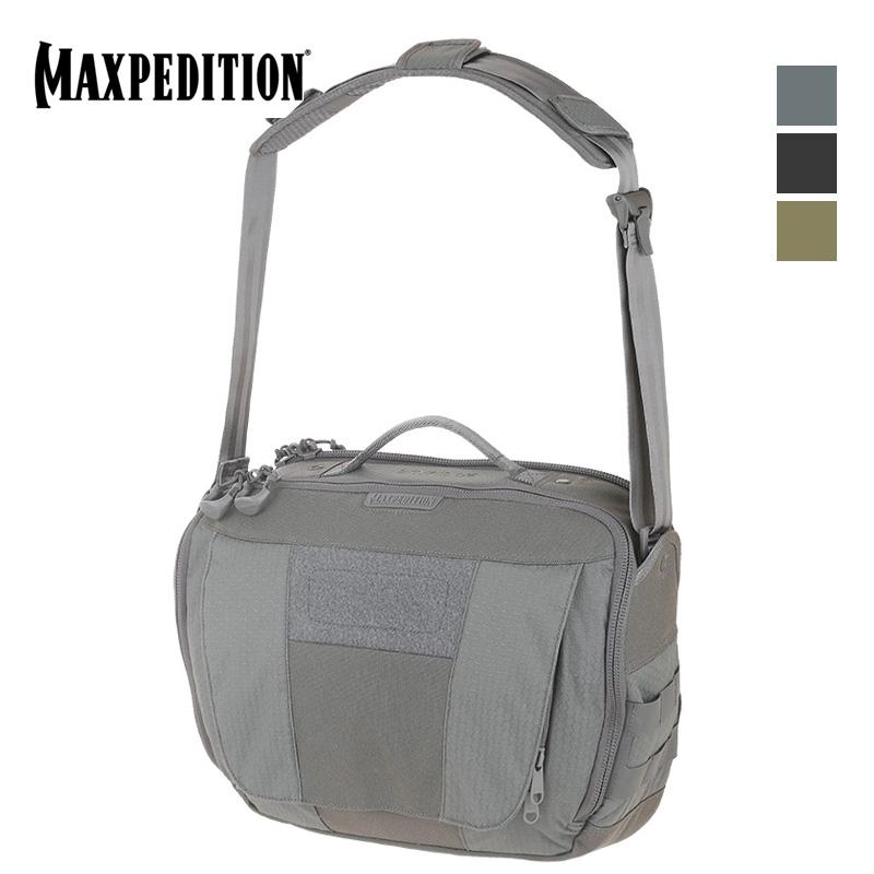 美国Maxpedition SKR 邮差包 信使包男单肩斜挎包 简约休闲电脑包