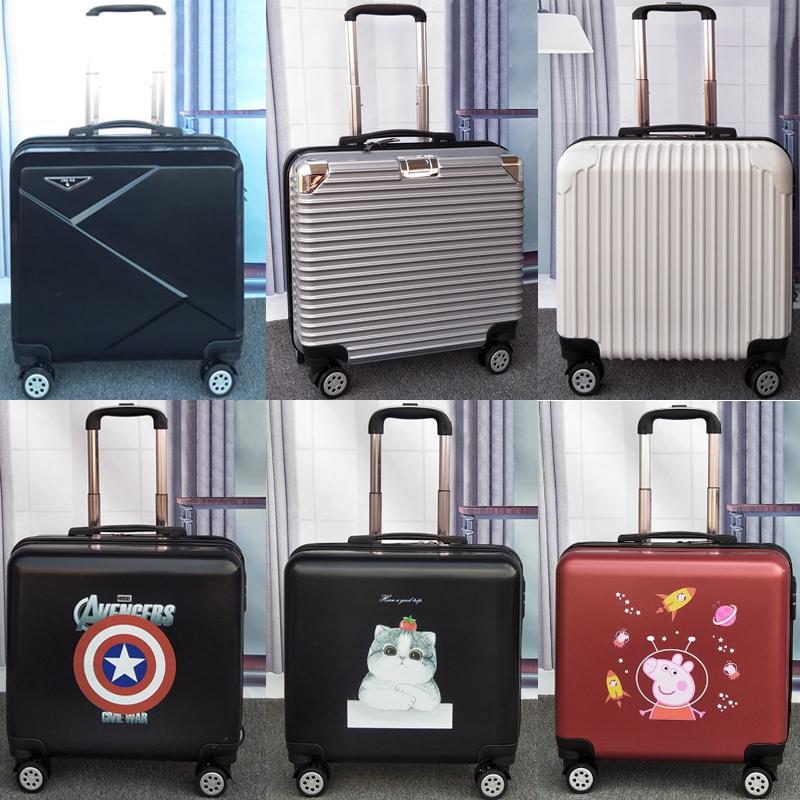 飞机登机箱18寸行李箱女小型拉杆箱...