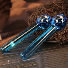 美容冰波球冰波美容球水晶能量冰球按摩面部眼部导入美容院2支装