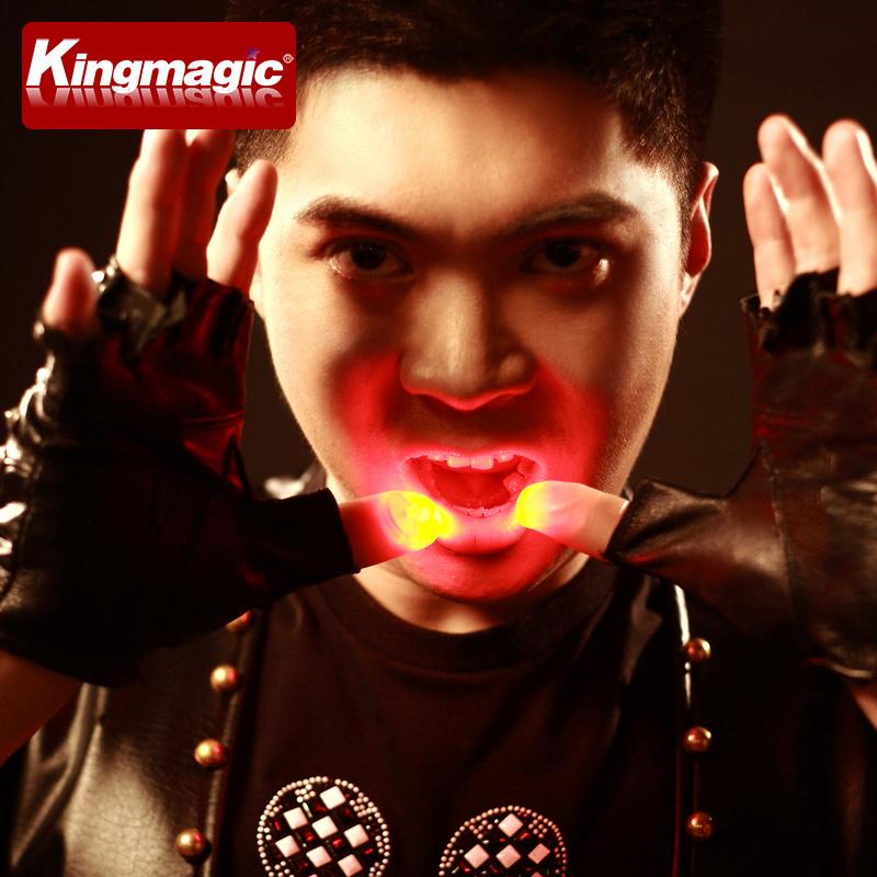 高品质拇指灯 光能舞动 手指灯 精装 多色可选 舞台魔术道具