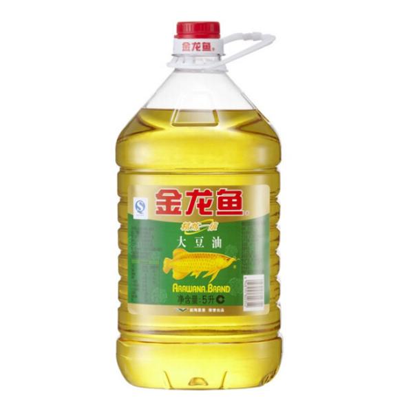 包邮 金龙鱼 精炼一级 大豆油 5L 食用油