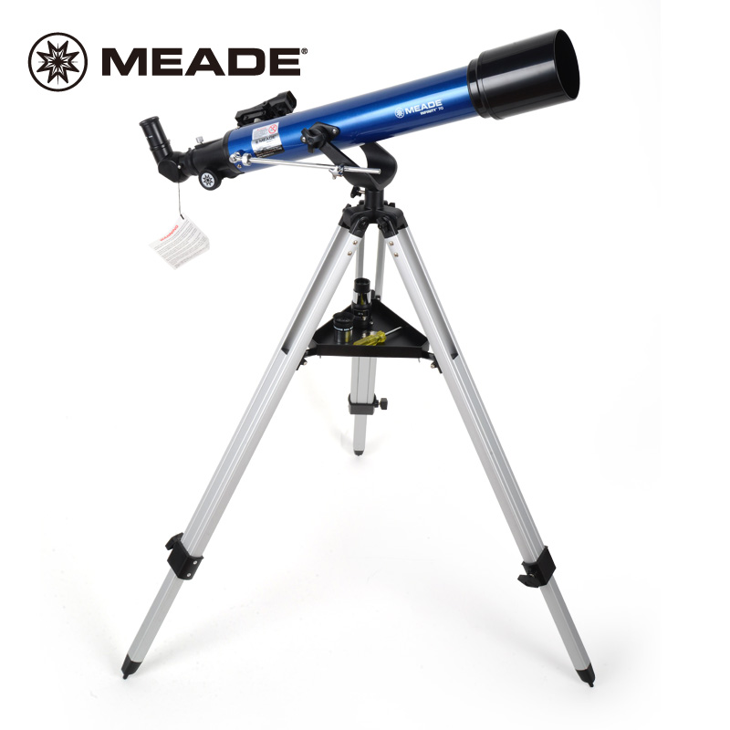 米德天文望远镜70AZ折射式高倍高清学生儿童科普入门天地正像两用