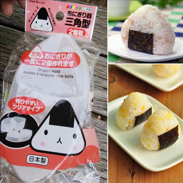 日本进口三角形饭团模具 米饭制作寿司工具 日式便当料理DIY模盒