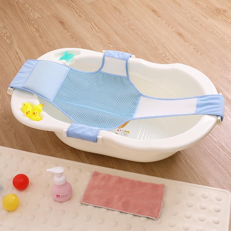 38.29元包邮婴儿洗澡桶家用可坐躺宝宝小号澡盆新生的儿多功能小孩防滑浴盆