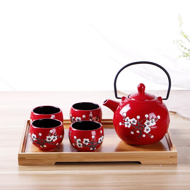 券后57.90元日式和风陶瓷功夫茶具套装结婚茶杯