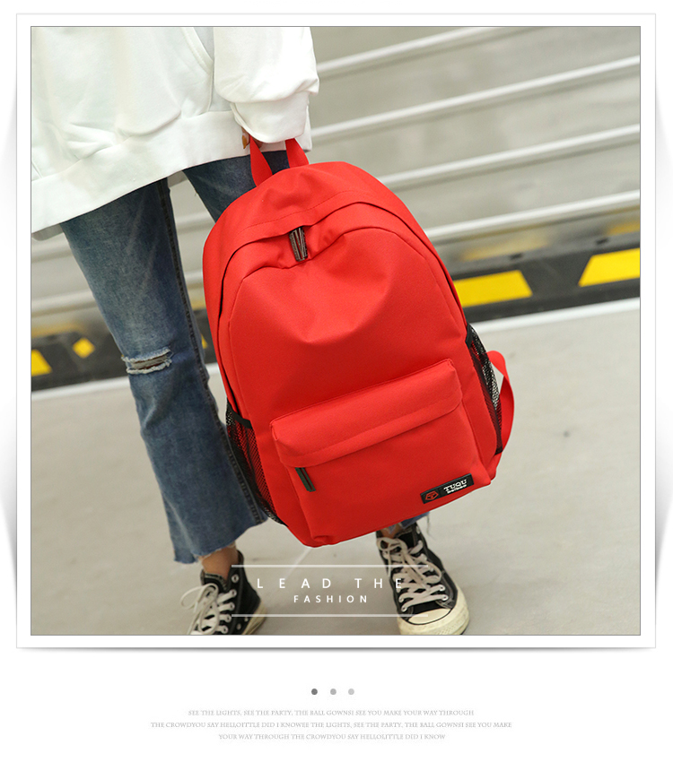New fashion campus high school schoolbag for male and female college students