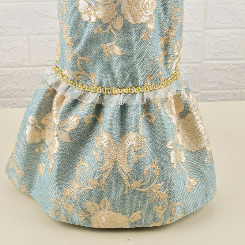 破壁机罩防尘套 家用 尘罩盖布蕾丝多用巾厨房电器茶杯台灯布盖布