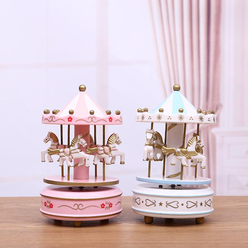 Cake decoration merry go round happy ferris wheel music box childrens birthday cake decoration accessories