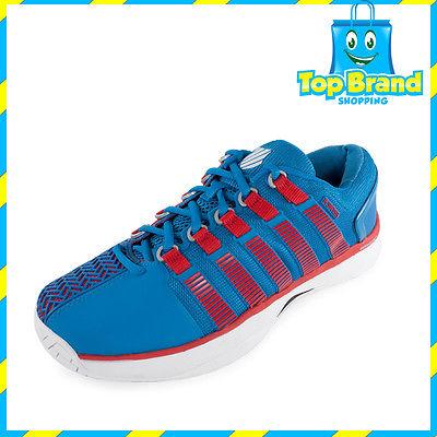 Kswiss gateway tennis shoes hypercourt mens blue breathable comfortable shock absorption lightweight