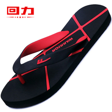 Men's Streamline Return in Summer Non-skid Personality Korean version Beach Outdoor Soft Bottom 2019 New Men's Sandals
