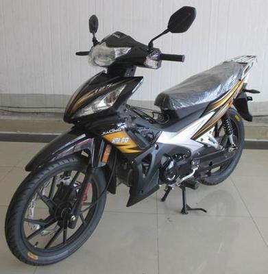 Chongqing Jialing motor Guosi EFI 125cc double clutch Haojun curved beam motorcycle rider can be licensed