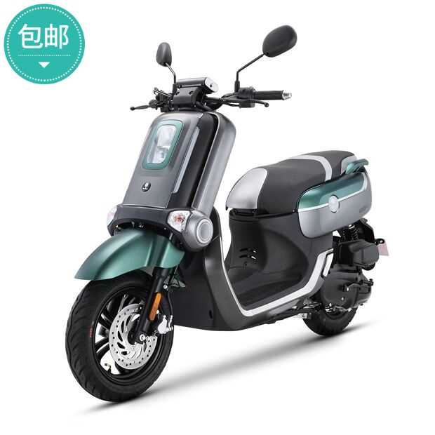 Gushite time machine 125cc scooter Guosi EFI mens and womens motorcycles LCD meter can be licensed and mailed