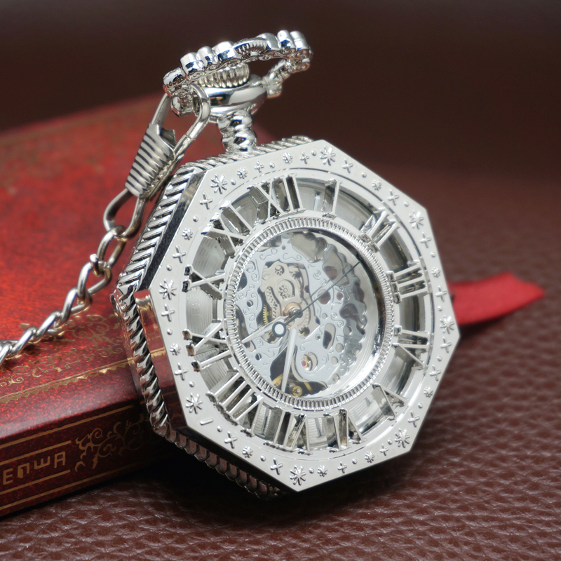 Brand authentic New Retro and nostalgic flip pocket watch for men and women