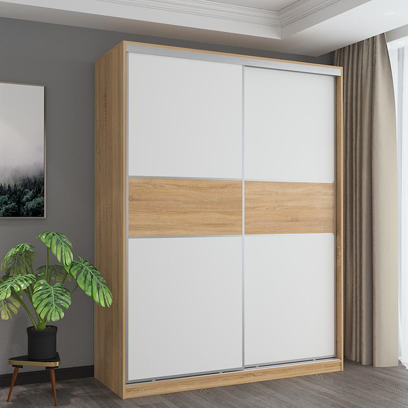 全屋定制家具推拉门衣柜滑移门趟门衣柜现代简约卧室衣橱滑门衣柜
