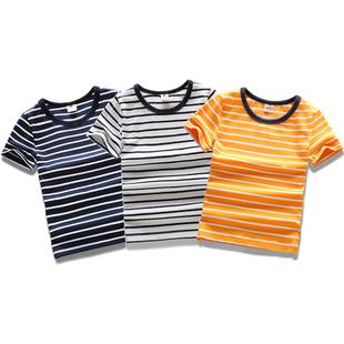 童装男童夏装短袖薄款中大童潮t恤