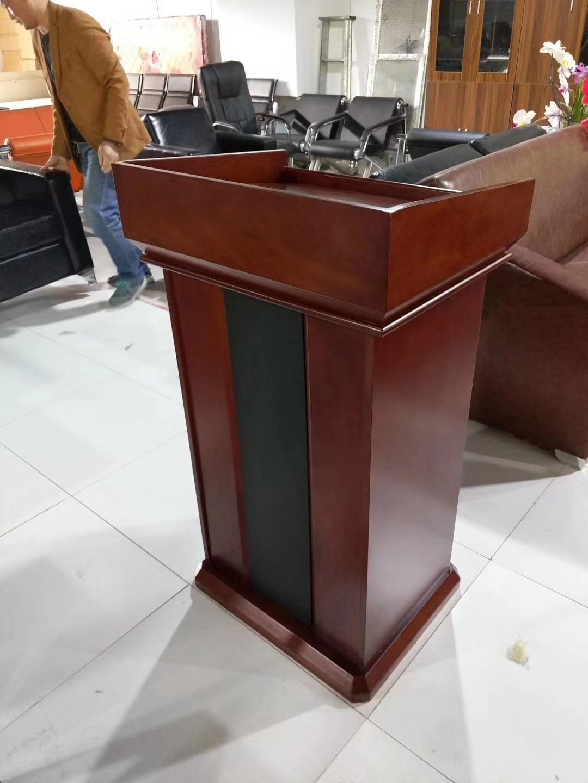 Multimedia lectern teachers podium speakers podium rostrum training platform Christian podium