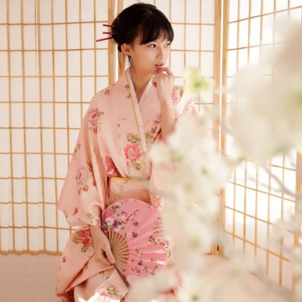 和服正装浴衣长款改良日本传统和服女cos动漫lovelive写真演出服