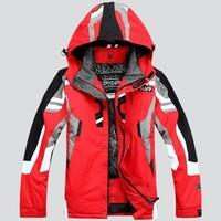 亏本价 2018新款滑雪服防水超保暖 单双板滑雪加肥加大套装户外