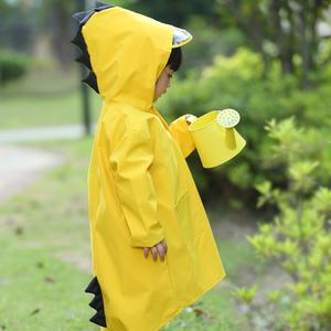 恐龙儿童雨衣男童幼儿园宝宝雨披春夏小童孩学生环保女童带书包位