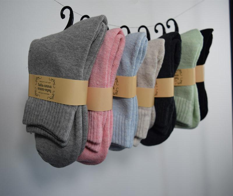 自留推荐~每色都好搭,舒服彩色全棉袜女袜