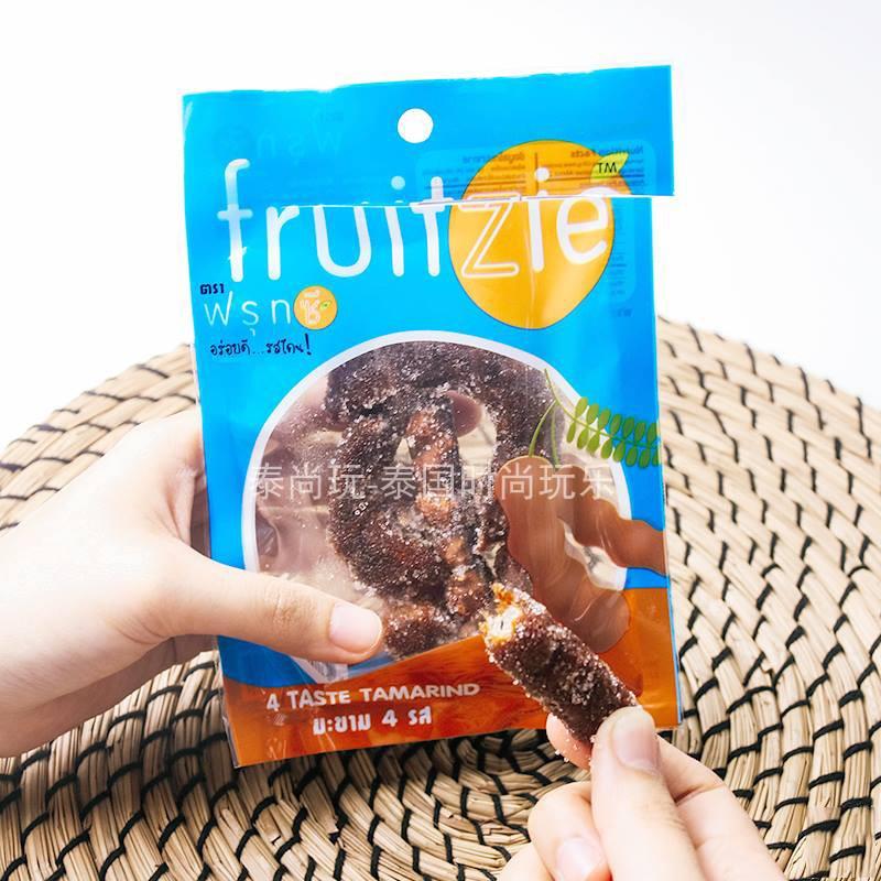 泰国直邮零食小吃711fruit zie酸角果罗望子酸甜角60G满100元包邮