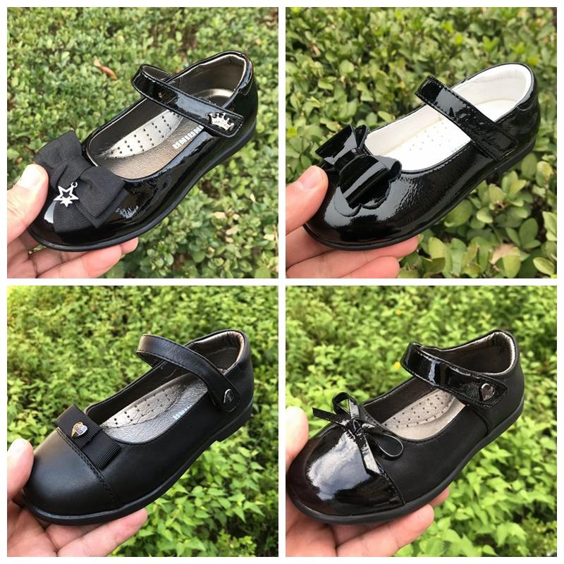 斯乃纳童鞋2021春秋新款女童牛皮学生表演单皮鞋中大童公主舞蹈鞋