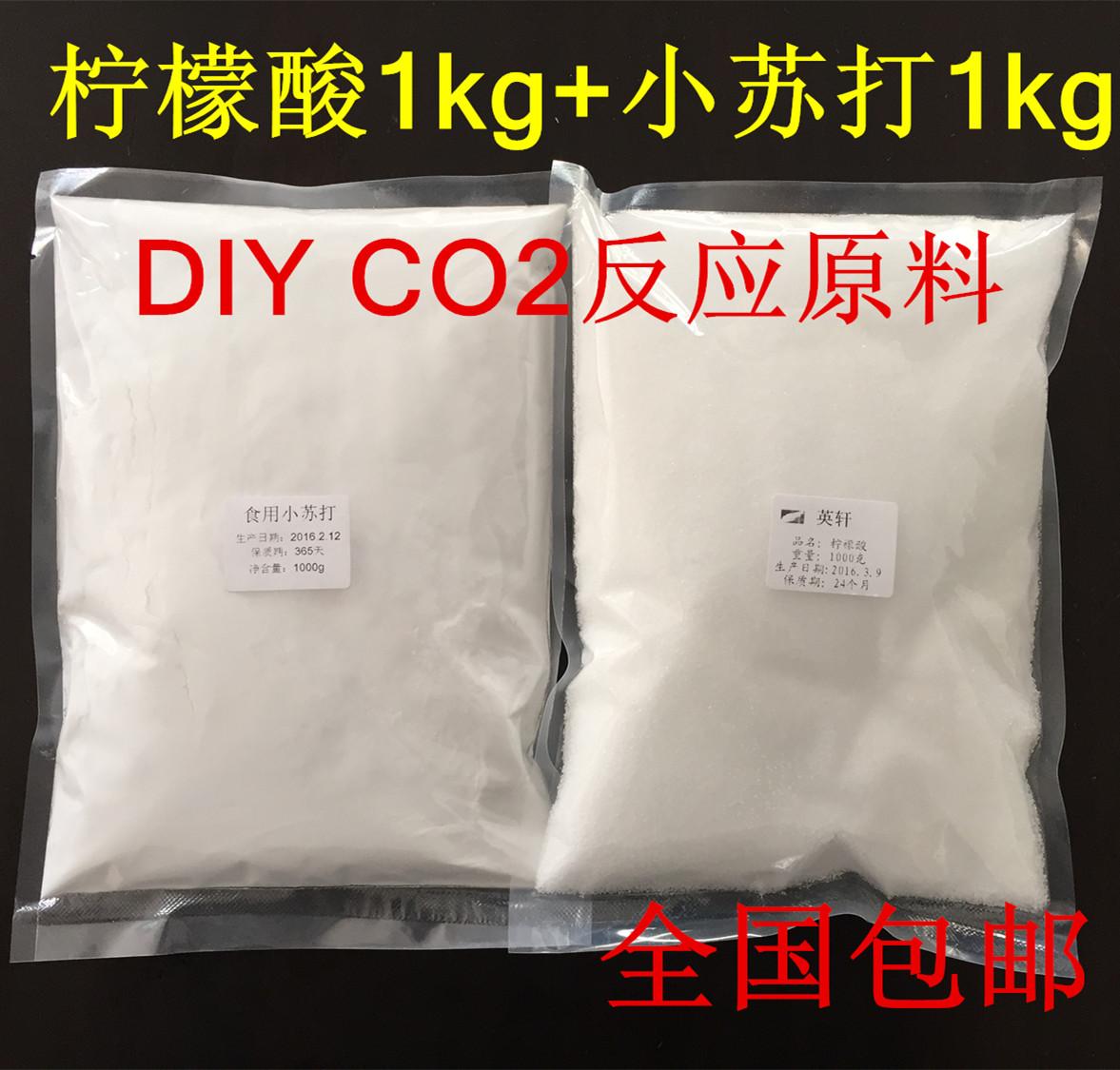 Пищевого лимон кислота небольшой провинция сучжоу борьба DIY два окисление углерод волосы сырье устройство реакция сырье аквариум ручной работы CO2