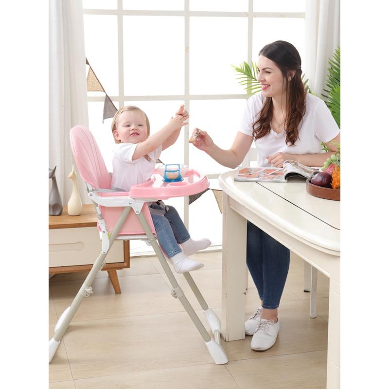 子供用の椅子と食事は折りたたむことができます。イケア用携帯ベビーテーブルの多機能シートのテーブルです。