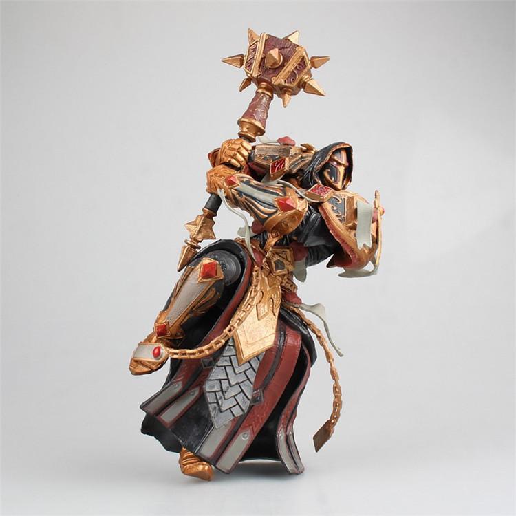 祖国版 魔兽世界 WOW 审判骑士 橙锤 圣骑士 瓦兰奈尔 盒装手办