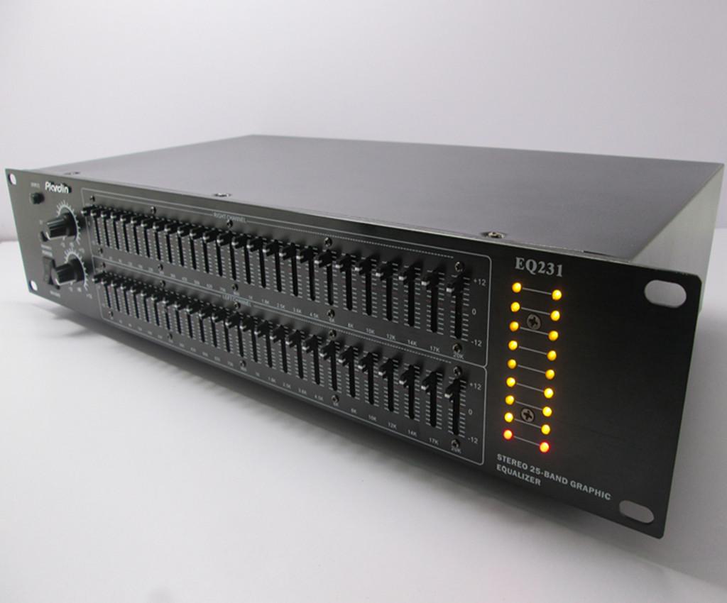 50段立体声EQ专业双25段KTV蓝牙均衡器hifi发烧家用EQ调音器