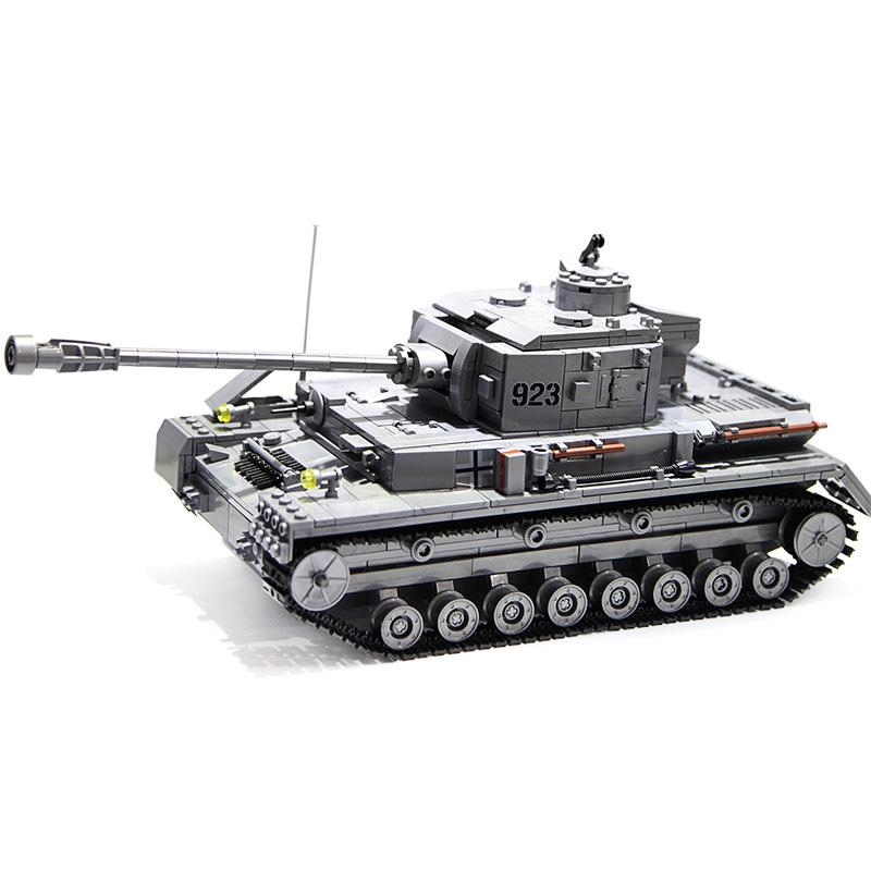 高博樂高博樂兒童積木玩具坦克模型拚裝軍事小顆粒益智男孩8~10歲
