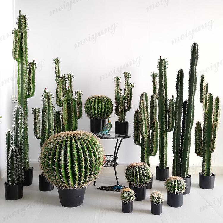 假植物仙人掌盆栽仿真仙人柱绿植盆景北欧室内大型装饰仙人球摆件