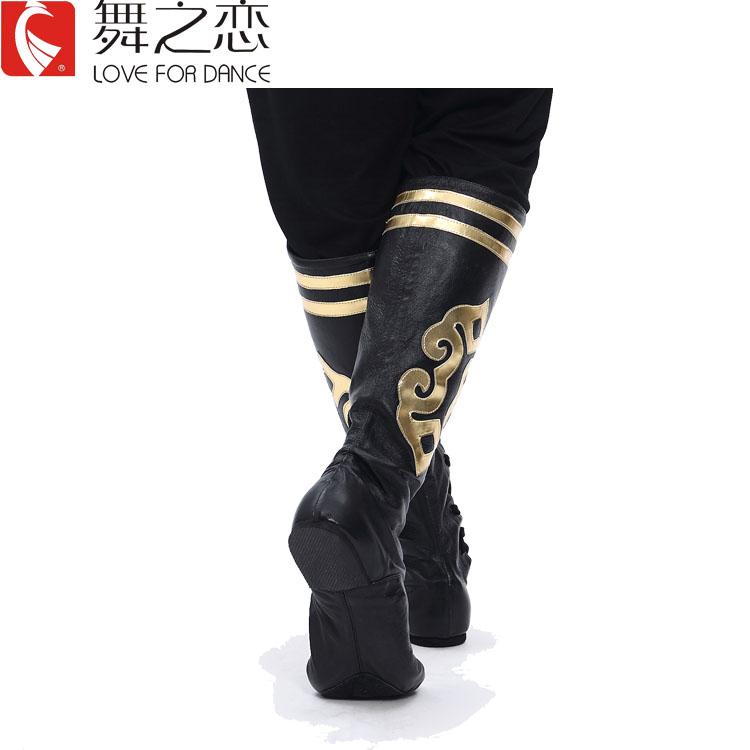 Монголия лошадь ботинок танец ботинок монгольский резервуар синьцзян драма глаз ботинок кожа цветочная сторона доставка качественной продукции включена модельа товар