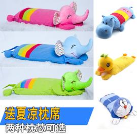 1-3-6岁 儿童枕头卡通动物男女宝宝婴儿宝宝小孩子幼儿园纯枕可爱