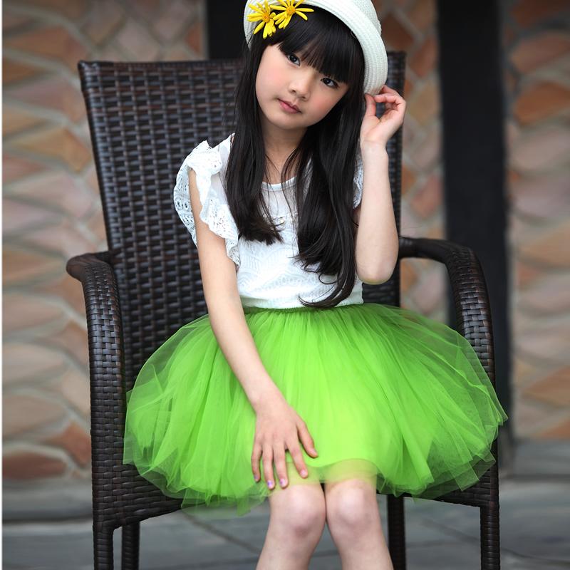 三角樹女童 兒童公主裙