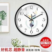 タイムクロック北欧の現代のミニマリズムリビングルームの壁時計創造的人格大気の音Shangchaoジン寝室のクロックホーム