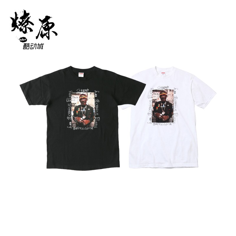 Supreme LEE SCRATCH PERRY PHOTO 10SS Vintage TEE T恤 雷鬼