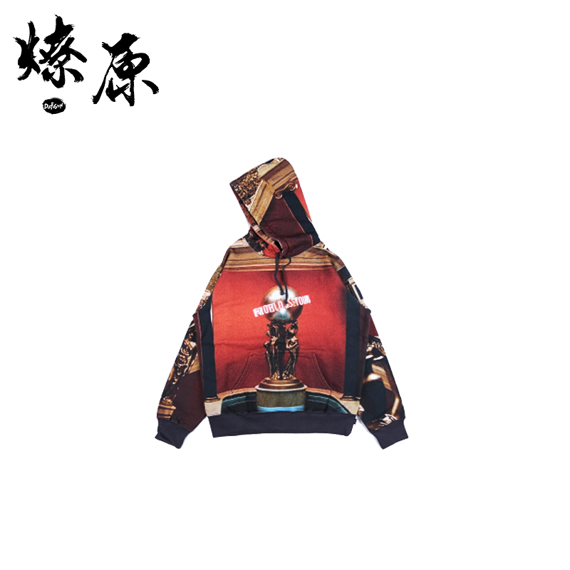 Supreme scarface the world is yours hooded sweatshirt 17卫衣