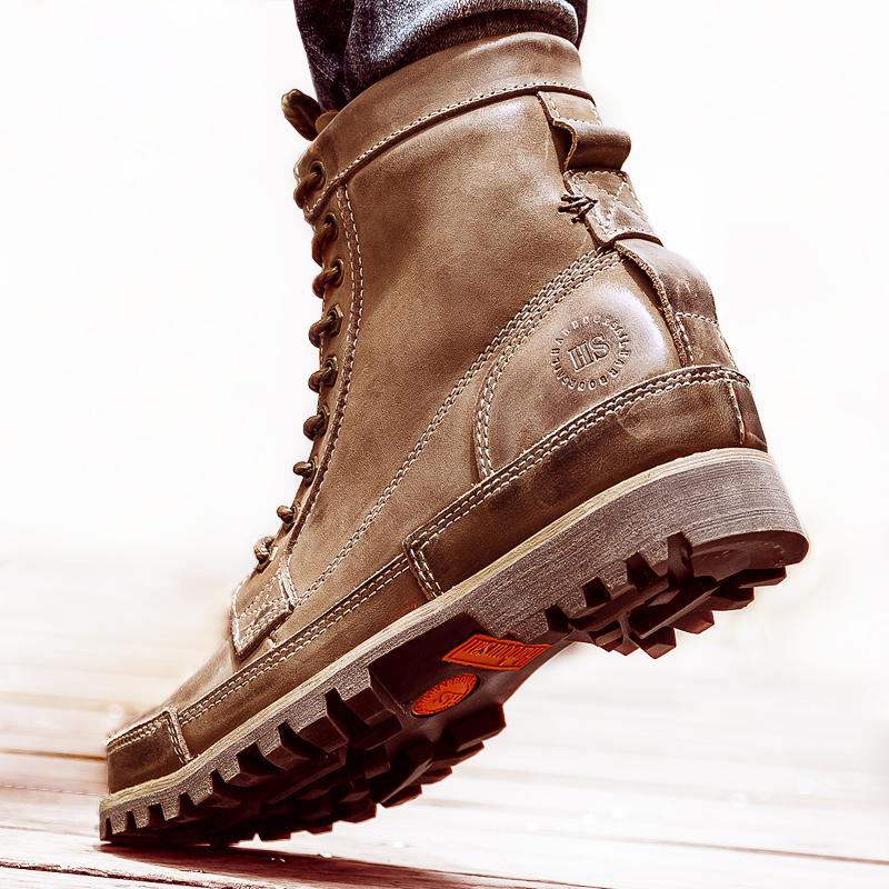 夏季单里复古英伦潮流透气马丁靴